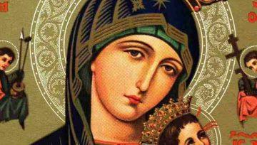27 de junho,  festa de Nossa Senhora do Perpétuo Socorro
