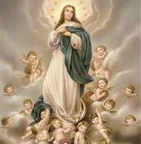 Dia 08 de dezembro , dia da Imaculada Conceição.