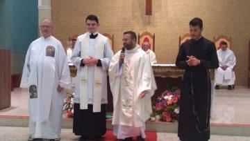 Nova equipe é apresentada aos paroquianos de São José Operário
