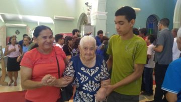 Visita Pastoral Missionária- Visita a doentes