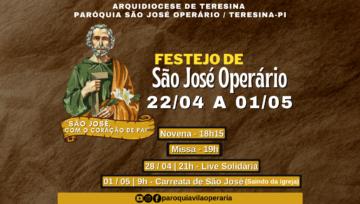 Paróquia celebra festejo em honra a São José Operário